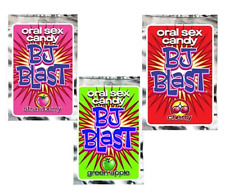 Bj Blast 3 Pack Mix Flavour Oral Sex Candy Hens Bucks Night Adult Party Gift Fun