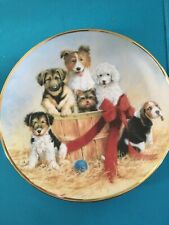 Basket of Cheer by James Killen ~ Aspca ~ Franklin Mint Collectors Plate