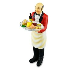 Reutter Porzellan Dollhouse Miniature Butler With Filled Cheese Tray