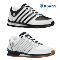K-Swiss Mens Casual MS Rinzler SP Trainers Leather Retro Low Top Sneakers Shoes