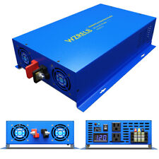 New listing 2500W Pure Sine Wave Power inverter 24V Dc to 120V Ac Truck/Rv Car/Home Solar