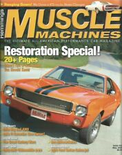 HEMMINGS MUSCLE MACHINES 2006 MAY - AMX, VETTE, 442