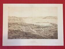 A. GUESDON / LEMERCIER - MESSINA - STAMPA - RIPRODUZIONE di LITOGRAFIA 1800