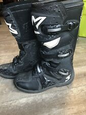 Alpinestars Tech 3 MX  Black Riding Motorcycle Off Road Motorcross Boots Size 11
