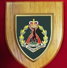 RARE MINT VIETNAM WAR RAR ROYAL AUSTRALIAN REGIMENT INFANTRY UNIT PLAQUE