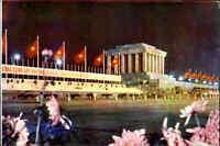 VIETNAM Postkarte Việt Nam Postcard Ho Chi Minh by Night, Saigon Hochiminh Stadt