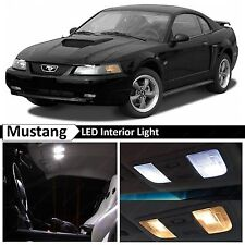 9x White LED Lights Interior Package Kit for 1994-2004 Ford Mustang