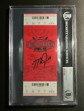 Mike Trout 2015 MLB ALL STAR GAME TICKET STUB Signed BAS BECKETT AUTHENTIC AUTO