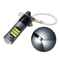 12V H3 Coche LED Niebla Bombilla 6500K Blanco Brillante Lámpara 42SMD Repuestos