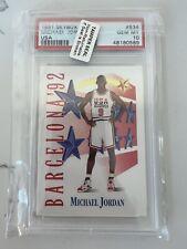 New listing 1992 SkyBox Michael Jordan #534 Basketball Card PSA 10 Gem Mint
