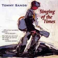TOMMY SANDS • Singing Of The Times • hard to find Irish Folk Music CD • Import