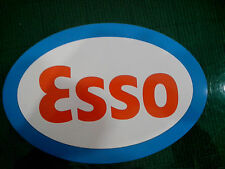 PAIR OF VERY LARGE 225mm ESSO DECALS