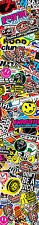 Sticker Bombardement Feuille Stripe 160x920mm * nouveau * bombe