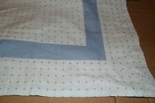 MARTHA STEWART BLUE DOT EURO SHAM