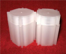 10 CoinSafe Square Coin Tubes    for  Silver Rounds