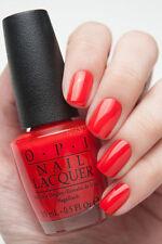 OPI Gwen Holiday ~FASHION A BOW~ Bright Red Orange Nail Polish Lacquer HRF07 New