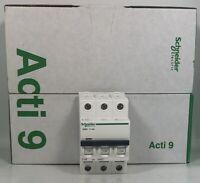 10 X B16 schneider Acti 9 tipo B 16A Amp 30mA RCBO radial Zócalo de circuito ACTI 9