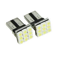 2x T10 LED 9SMD White Car License Plate Light Tail Bulb 2825 192 194 168 W5W