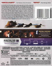 The Hateful Eight (Blu-ray/DVD, 2016, 2-Disc Set, Includes Digital Copy UltraViolet)