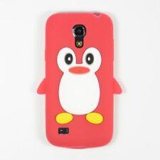 Carcasas de color principal rojo de silicona/goma para teléfonos móviles y PDAs