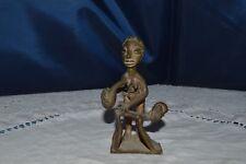 Art African/Statuette Bronze Scene Of Enema Adult / Ref 2