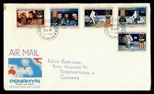DR WHO 1989 PENRHYN FDC SPACE 20TH ANNIV APOLLO 11  C240390