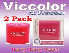 2Pack Diax Viccolor BERRY BERRY Air Freshener JDM Car Home Office ,Made In JAPAN