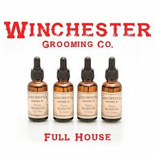 Beard Oil - FULL HOUSE- All 4 scents together-  -Great mens gift Idea