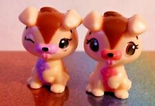 Hatchimals Colleggtibles Season 3 TWINS PUPPIT Tan Mint OOP