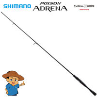 Shimano POISON ADRENA 2611MH Medium Heavy bass fishing spinning rod from JAPAN