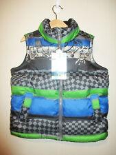 NEW Toddler Boys OLD NAVY Skateboard Print Puffer Vest Jacket Frost Free 5 5T