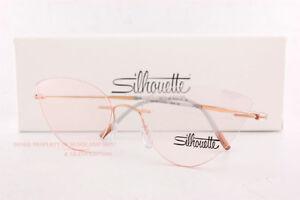 New Silhouette Eyeglass Frames ESSENCE 5523 GT 3535  Rose Spirit Size 54