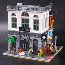 15001 Creator Brick Bank Model Building Blocks Bricks Kits Toys 10251 2418pcs