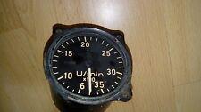Tachymètre aviation Drehzahlmesser FI.20222 ME109 FW190 JU-87 WW2 Luftwaffe