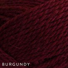 5 x 50g Balls - Patons Jet 12ply Wool-Alpaca - Burgundy #821 - $34.95 A Bargain
