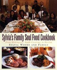 Sylvia's Family Soul Food Cookbook South Carolina to Harlem LIKENEW African Food