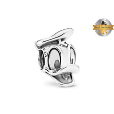 Donald Duck Portrait Charm For Bracelet, Birthday Gift And Mothers Day