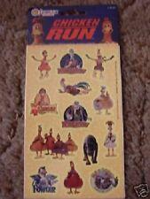 48 SandyLion CHICKEN RUN 2 Sealed Pk STICKER Sheet 2000