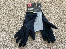 NEW Under Armour Storm Run Liner Gloves women 1320484