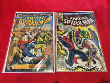 The Amazing Spider-Man #156 and 215 lot (2) Mirage Introduction. w1