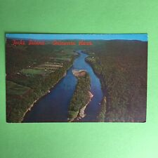 Tocks Island Delaware River Pocono Mountains Area Unposted Postcard