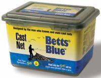 """Betts Blue Cast Net 6' Blue 1Lb Per Foot 3/8"""" Mesh"""