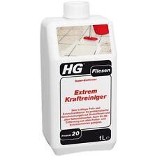 HG Fliesen Extrem Kraftreiniger 1 Liter (Super Entferner) Produkt 20 Naturstein