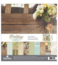 PAPER HOUSE 6 X 6 PAPER PAD WEDDING DAY 36 SHEETS