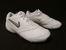 Nike Flight Liftoff Mens Low White Leather Mesh  Shoes US 10  EU 44