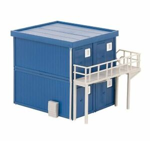 Faller 130134 4 Baucontainer, Blu
