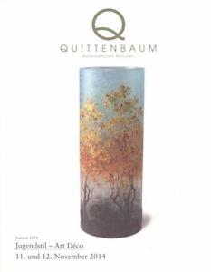 Quittenbaum Munchen, Jugendstil Art Déco  November 2014 HB