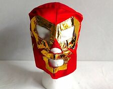 Red DR WAGNER KIDS MASK NEW Lucha Libre Pro Wrestling Mexico wwe
