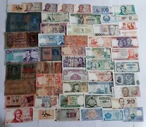 50 Banknotes from The World BB And Fds (Lotto-02)