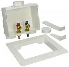 Eastman 60245 1/2in PEX Dual Outlet Washing Machine Outlet Box